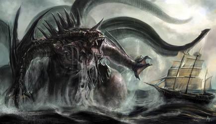 Kraken by eronzki999