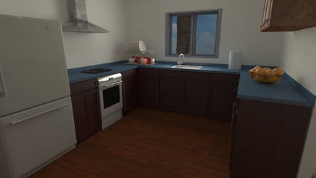 Kitchen 2 by gulisch