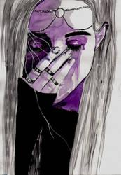 purple tears by katyo9