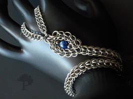 Chainmaille Snake Slave Bracelet