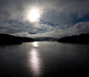 Waking Waterbury Reservoir