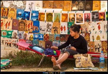 She Sells... Paintings by alokethebloke