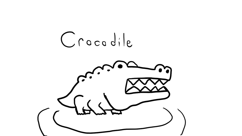 Crocodile by Papyrus101