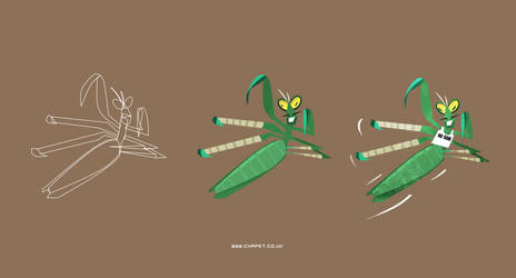 Master Mantis by Chapet
