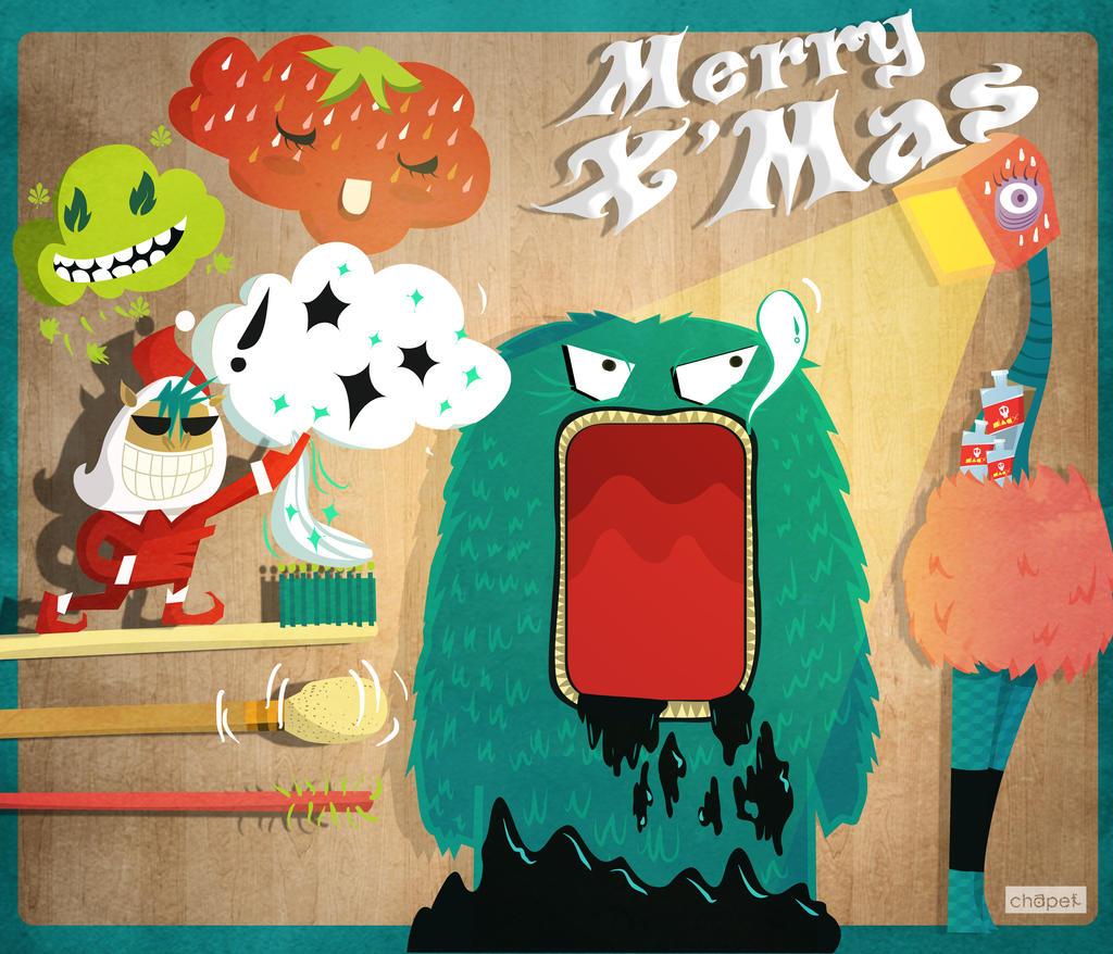 Monster's dental clinic by Chapet