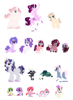 Adopts Sale 100 points/1$ OPEN by Saphi-Boo