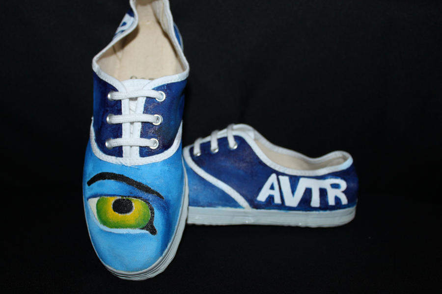 Avatar Shoes by thexlook on deviantART: thexlook.deviantart.com/art/avatar-shoes-160269716