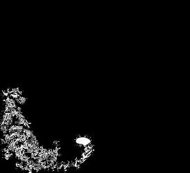 Tiger Back Line Art by defineDEAD