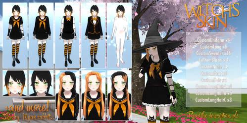 YanSim: Halloween | Witch's skin + DL by ENERHEL