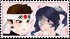 Yandere Simulator stamp: Sho Kunin x Supana Churu by Nyan-rabbit
