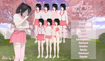 YanSim: Happy Valentine's Day!   Skin + DL by ENERHEL