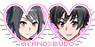 Yandere Simulator stamp: Ayano x Budo by Nyan-rabbit