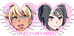 Yandere Simulator stamp: Asu x Ayano