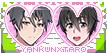 Yandere Simulator stamp: Yandere-kun x Taro
