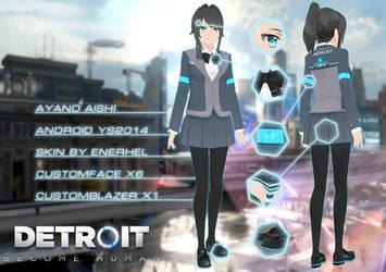 YanSim: Detroit Become Human | Skin + DL by ENERHEL
