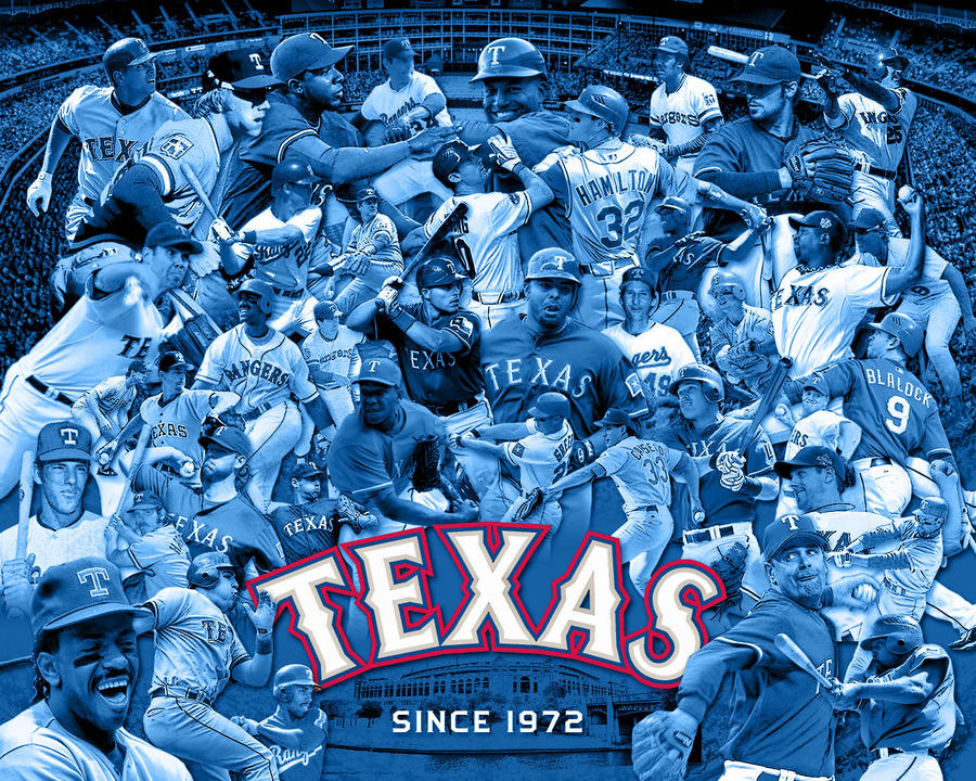 Texas Rangers Wallpape by BHoss1313