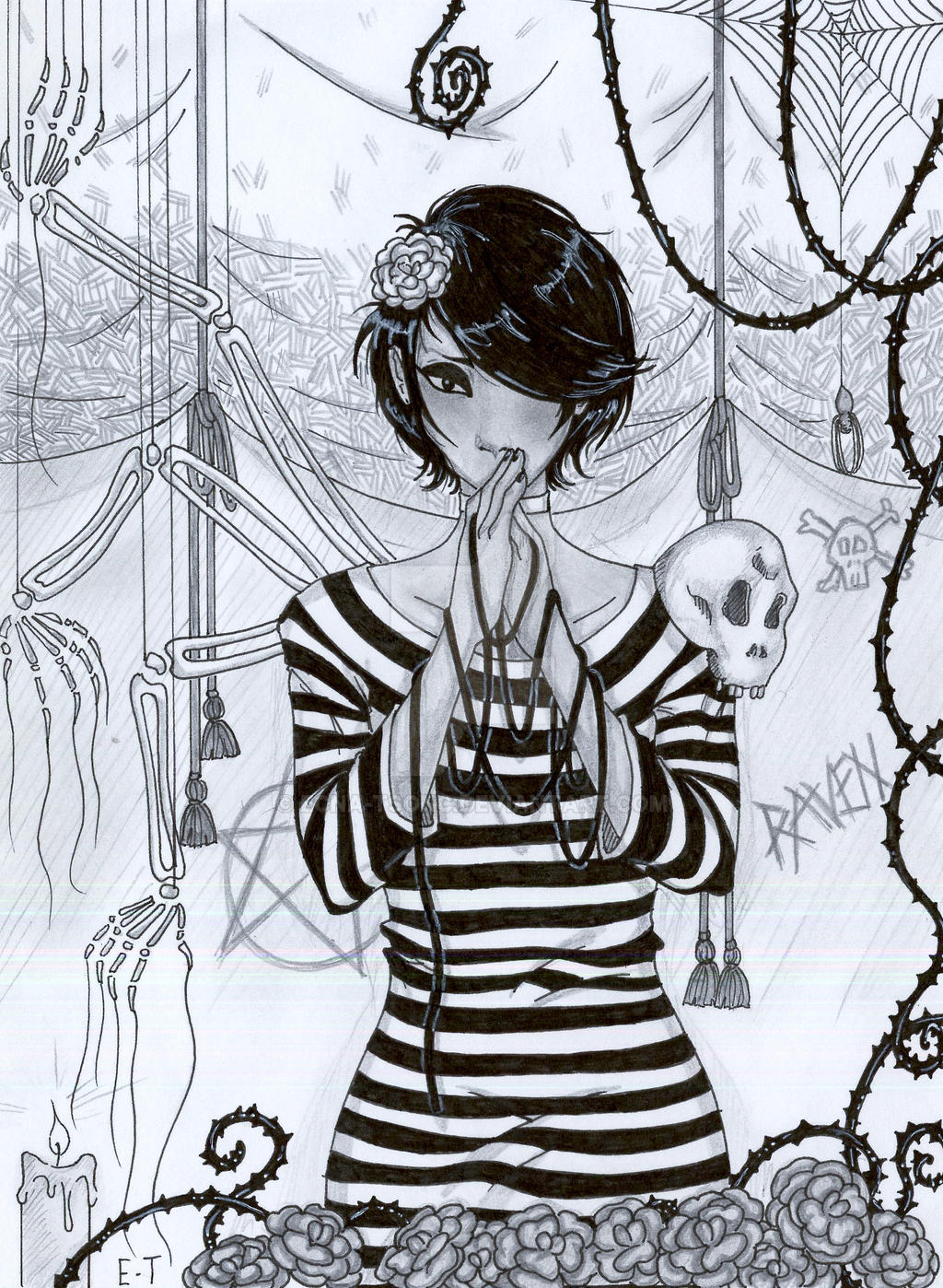 Raven ::commission:: by Ecna-Tsonc