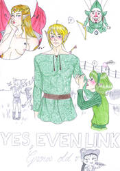 Yes, even Link grows old