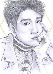 Jinyoug GOT7 portrait