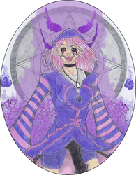 Zifera the Tyrant Witch ::commission::