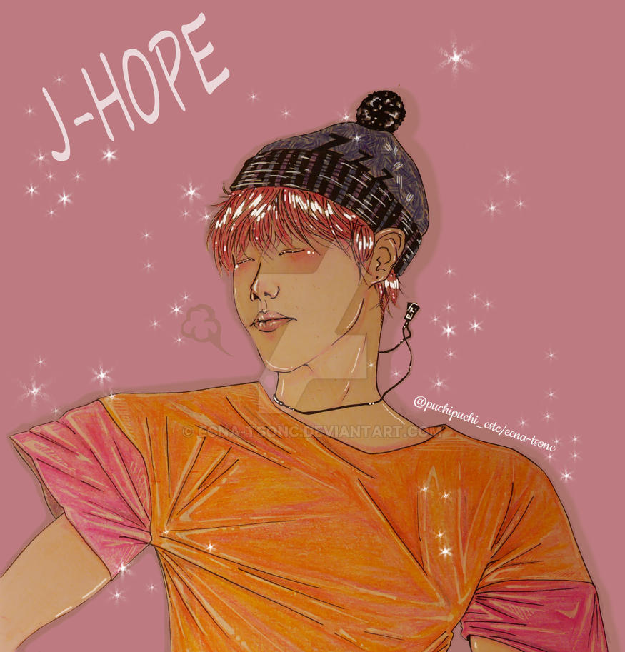 Jhope BTS by Ecna-Tsonc