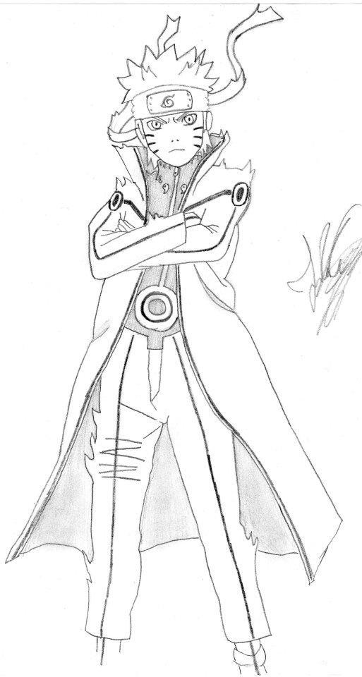 Naruto Bijuu mode by XTopMadaraUchihaX on DeviantArt