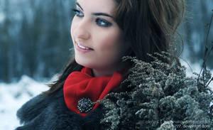 Olga winter portret