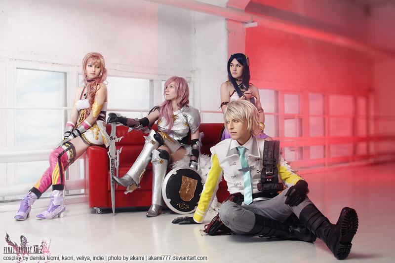Final Fantasy 13-2 by aKami777
