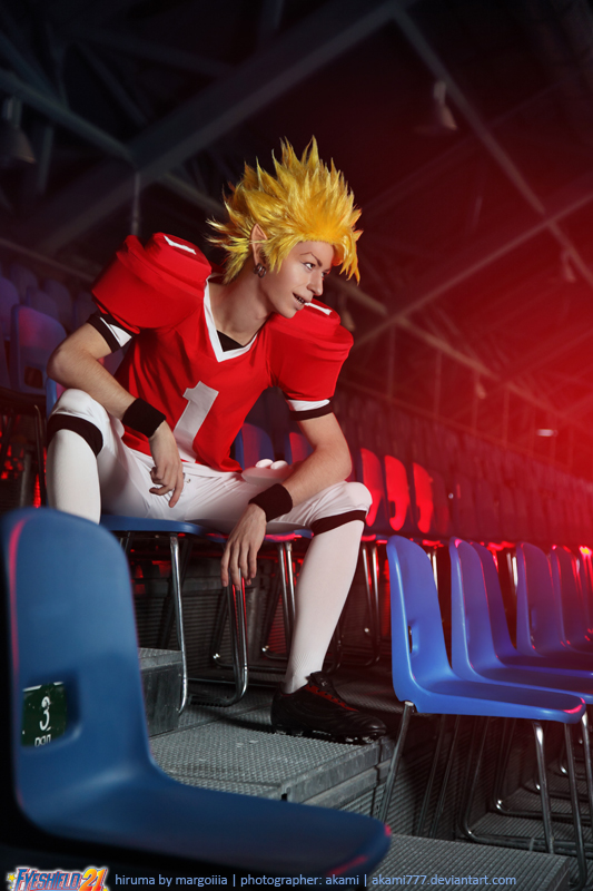 Eyeshield 21:  Hiruma by aKami777