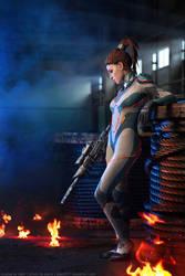 StarCraft2: Sarah Kerrigan. 2
