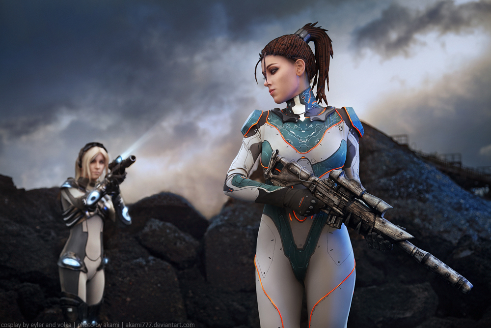StarCraft2: Nova and Kerrigan. 2 by aKami777