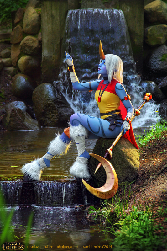 League of Legends. Soraka. 8 by aKami777