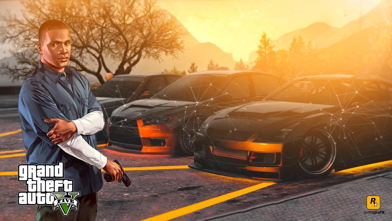Grand Theft Auto V Light Car Wallpaper By Syntrografik On