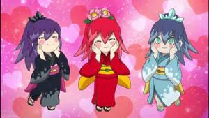 The three Yokai sisters