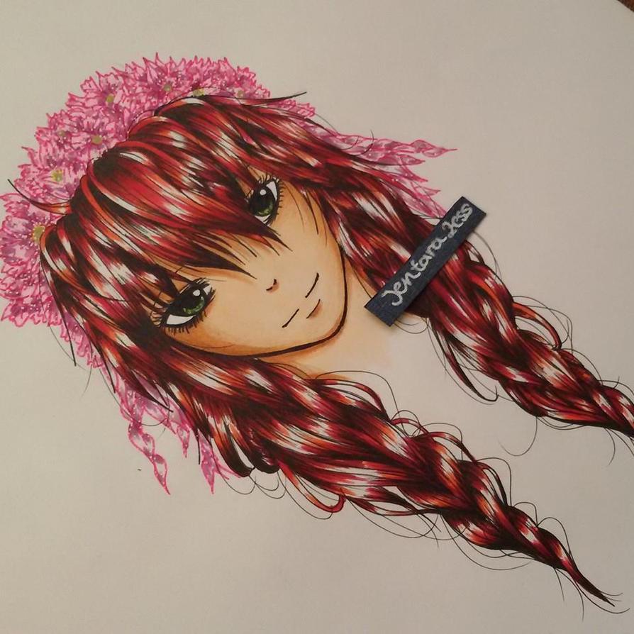 Beautiful hair by JentaraZess