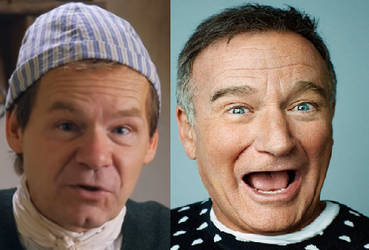 Robin Williams Is Not Dead by MrNorbert1994