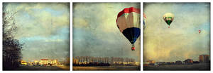 Dreams as balloons flying away by aftercode