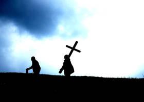 Take up his cross by eldersprite