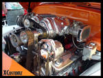 Chevy Panel Truck - Engine