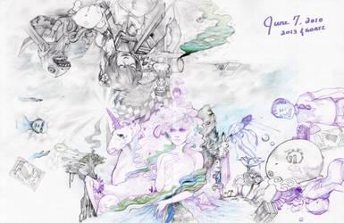 2013 Collab by goatz