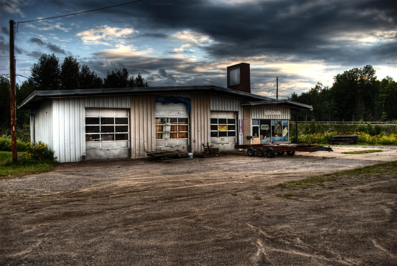 There Once was a Car Garage... by CodyWilliam on DeviantArt