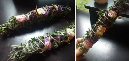 Rosemary and Lavender Smudge Sticks