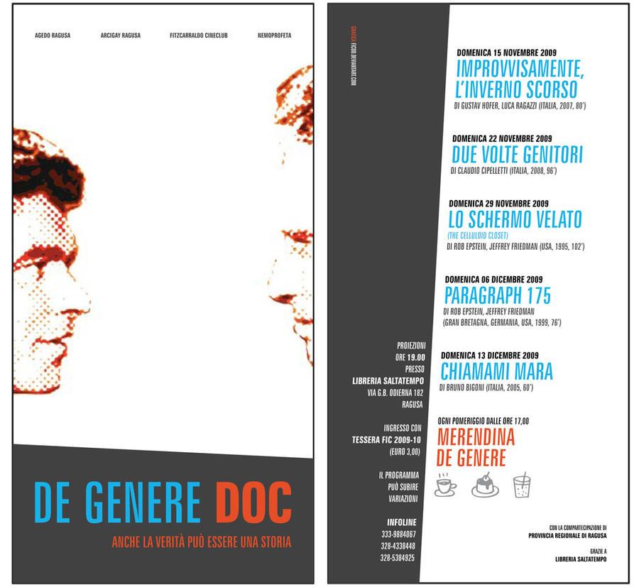 de genere doc - flyer by ficod