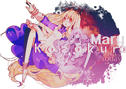 ✖ т o х ι c d e ѕ ι n g Kozakura_mary___asignature_by_flowersnow-d5hf8y9