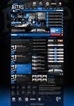 Aetas eSports Web Layout 2011