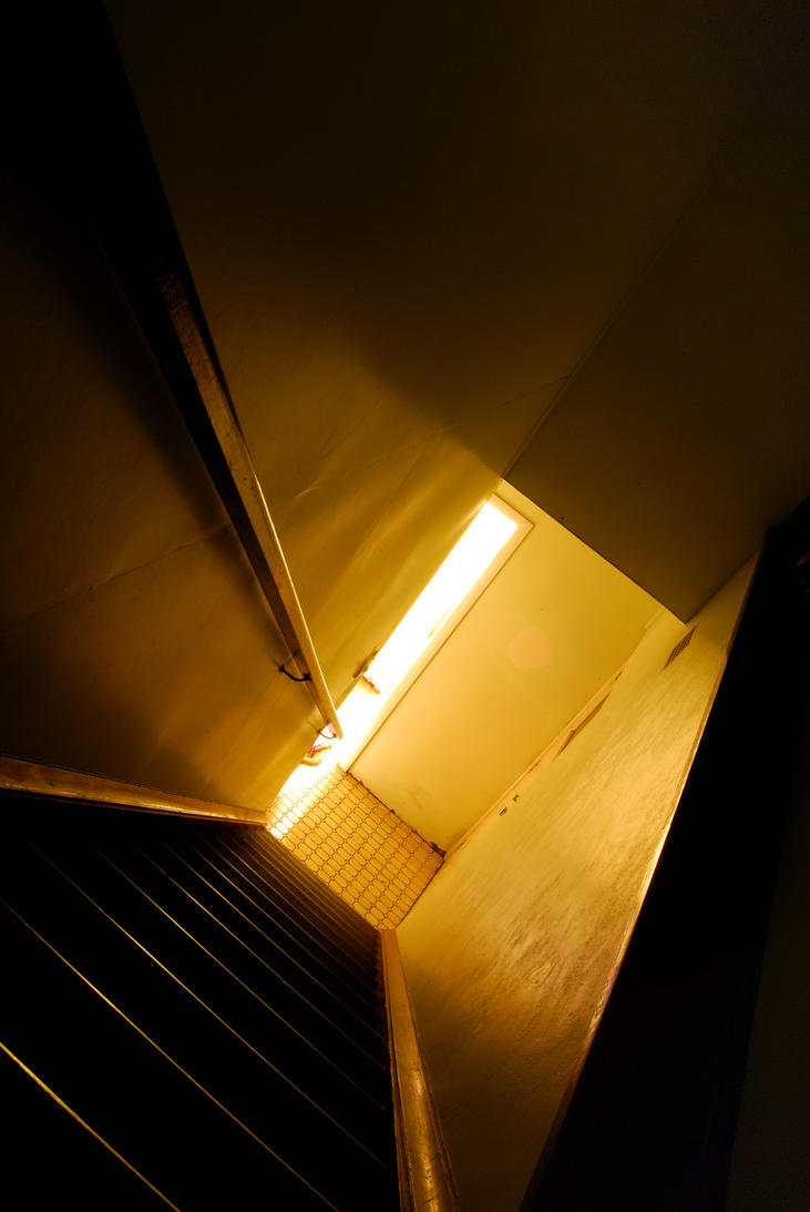 Dramatic Staircase by Talon010