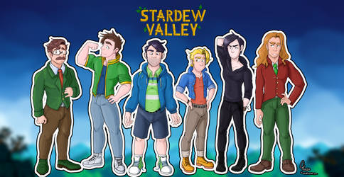 Bachelors of Stardew Valley