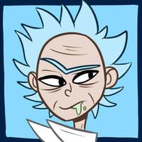 Rick Icon by gamer-insomniac