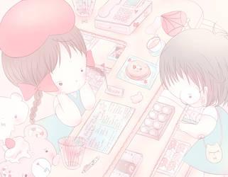 Afternoon Pastries by Bearysukie