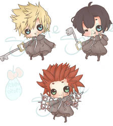 SeaSalt Trio Charms